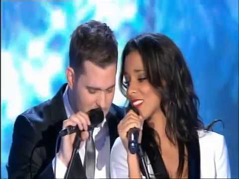 Michael Buble White Christmas.Shy M Feat Michael Buble White Christmas Live