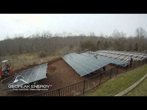 The Largest High-Efficiency Home Solar System