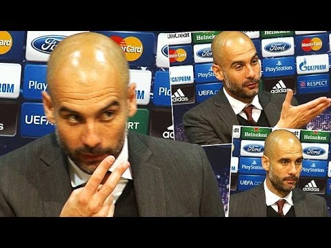 Pep Guardiola Loses It With Journalist After Bayern Draw At Manchester United