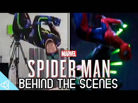 Behind the Scenes - Spider Man (PS4) [Motion Capture and Early Prototype]