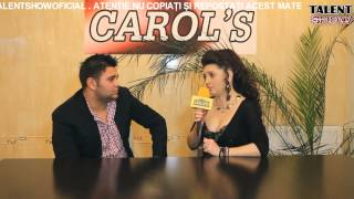 INTERVIU - MARIAN BUDEAUA ( CAROL&#39S )