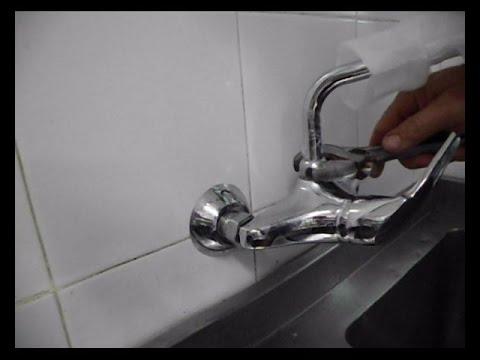 Instalar grifo monomando de lavabo doovi for Como cambiar un grifo de cocina