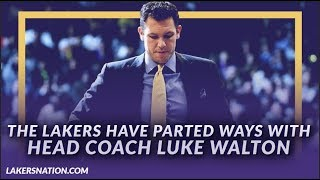 Lakers Breaking News: The Lakers and Luke Walton Have Mutually Agreed to Part Ways