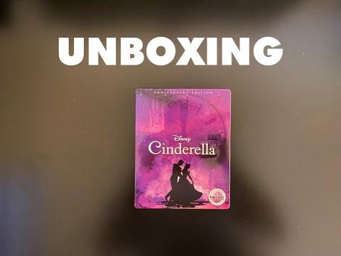 Download Cinderella (1950) - Blu-Ray Steelbook Unboxing