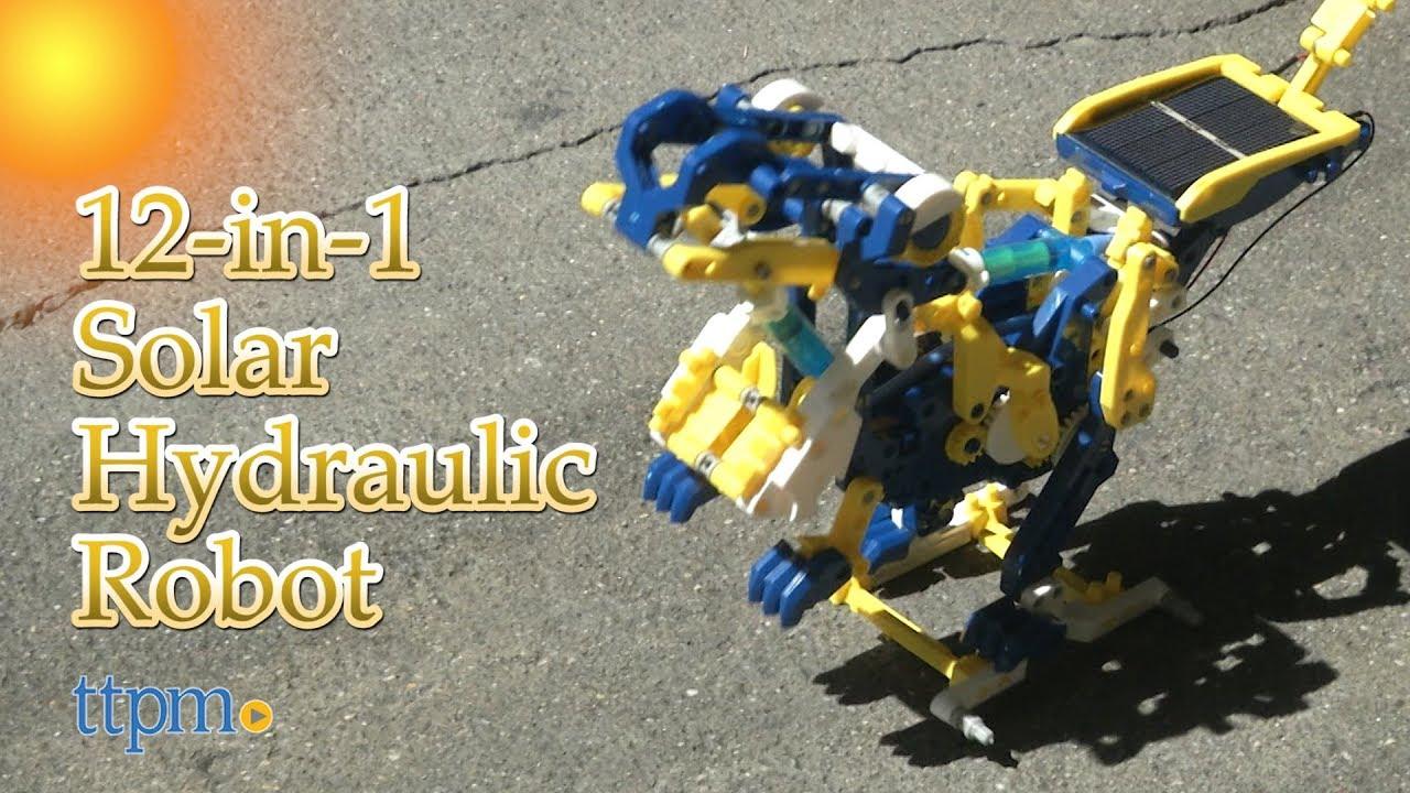 190 Pieces DIY Building Sillbird STEM 12-in-1 Education Solar Robot Toys
