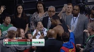 Dwight Howard PISSED Over Ejection, Fakes Out Celtics Fan with Petty Jersey Giveaway