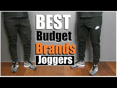 Best AFFORDABLE Joggers & Workout Pants (alpha m. Shopping VLOG)