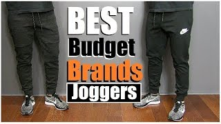 Gambar cover Best AFFORDABLE Joggers & Workout Pants (alpha m. Shopping VLOG)