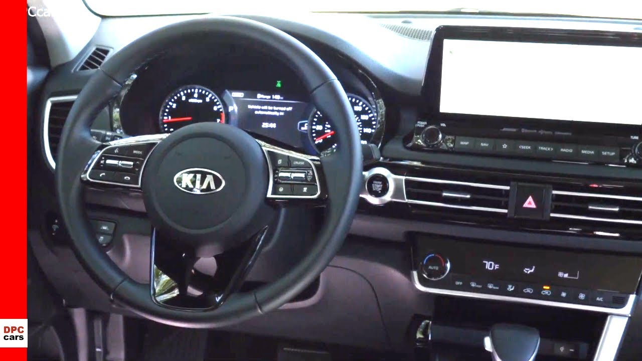 Kia Seltos 2021 Interior Cabin Us Spec Youtube