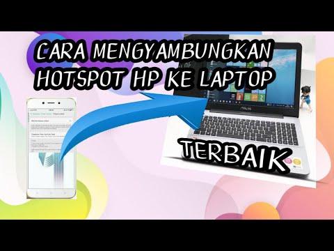 cara-menyambungkan-hotspot-hp-ke-laptop