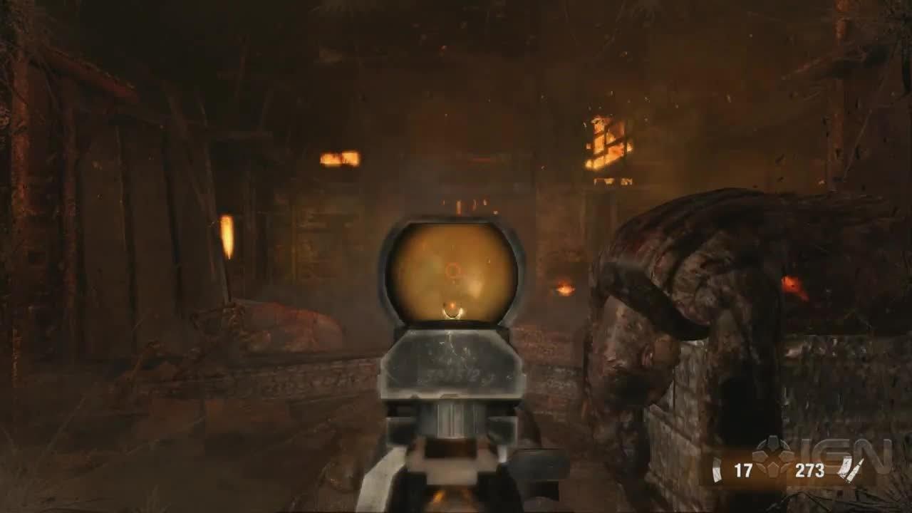 Metro Last Light Gameplay