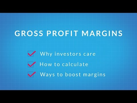 Gross Profit Margins and Investors 101