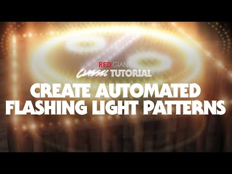 Classic Tutorial | Automated Flashing Light Patterns in After Effects