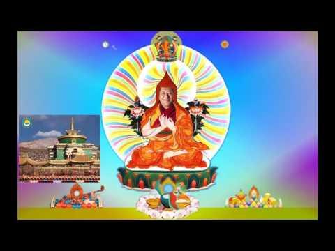 上师瑜伽速赐加持高清精美视频+索达吉上师领诵200拜+有顶礼咒