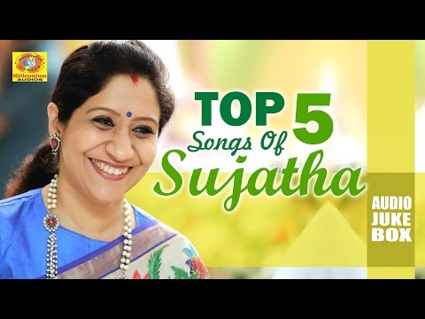 Top 5 Songs of Sujatha | Latest Malayalam Mappilapattukal 2016 | Sujatha Hit Mappila Songs