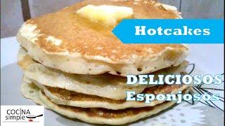 los mejores hotcakes, pancakes, panquecas! desde cero ...best buttermilk PANCAKES from scratch