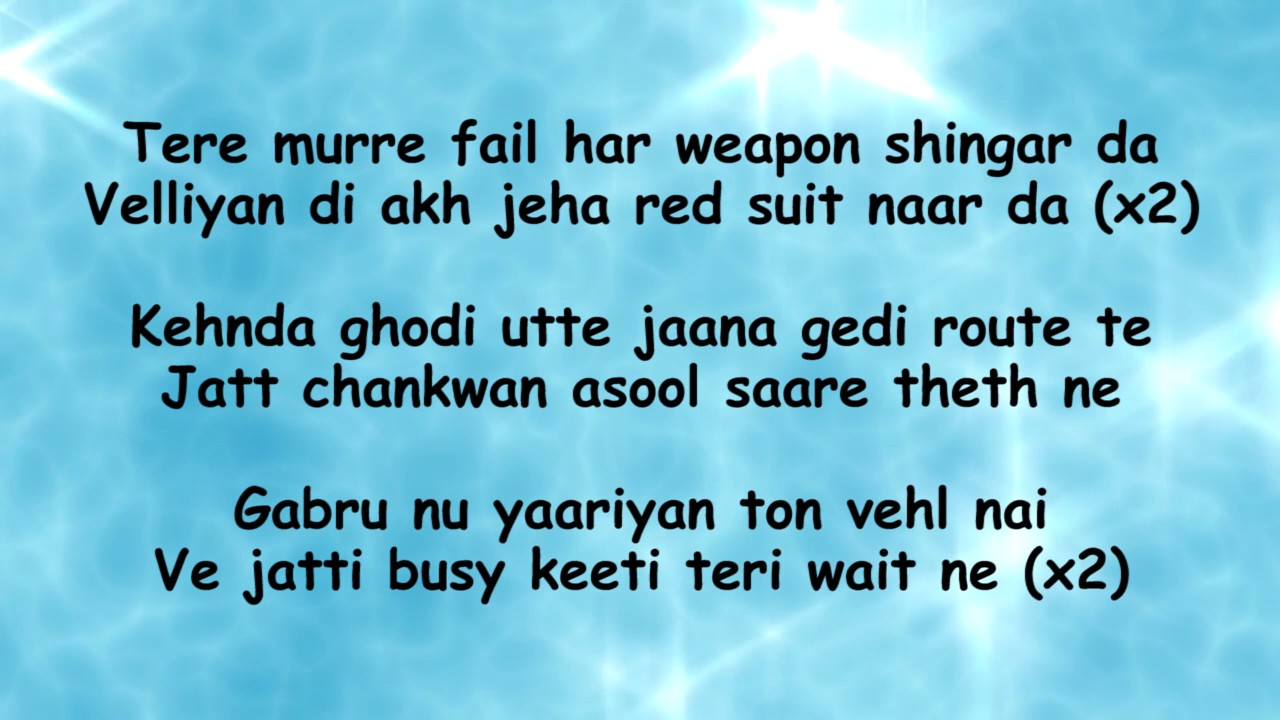 Feelinga Punjabi Song Lyrics - Health Tips and Music