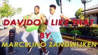 DAVIDO - Like That | Choreography by Marcelino Zandwijken | Suriname