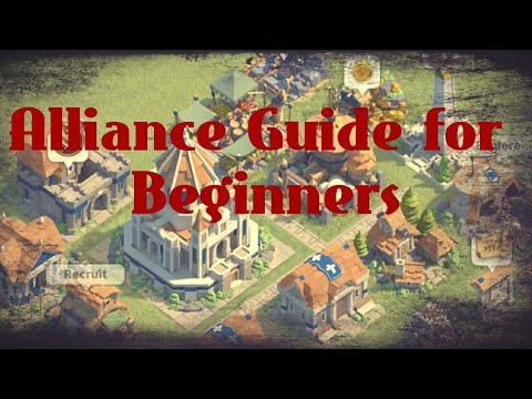 Alliance Guide Part 1, [Beginner's Guide] | Rise Of Kingdoms