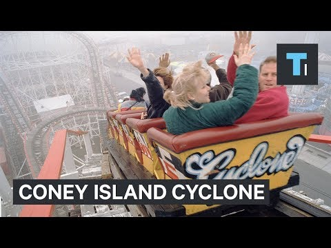 What it's like to ride the thrilling Coney Island Cyclone