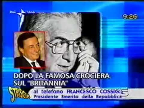 Mario Draghi? Un vile affarista, parola di Francesco Cossiga