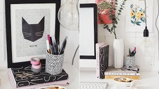Styling Your Workspace! // KATE LA VIE