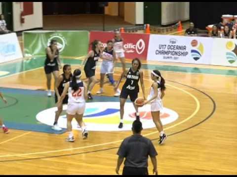 Highlights from the 2017 FIBA Oceania U-17 Championships