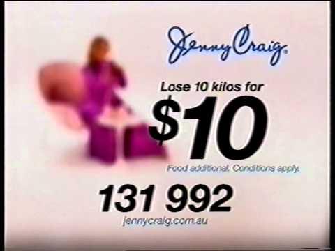 Kirstie Alley Australian Jenny Craig ads