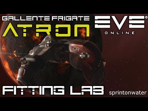 EVE Online: Fitting Lab - The Atron, Gallente Federation T1 Frigate