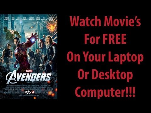 How to Watch Movie's for FREE on your Laptop/Desktop Computer!