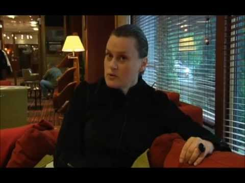 KASAROVA - Interview - Helsinki concert [Part 1/5] (June 201