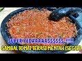 - SAMBAL TOMAT TERASI MENTAH SEGAR  PEDASNYA SUPEEERRRRR...!!!