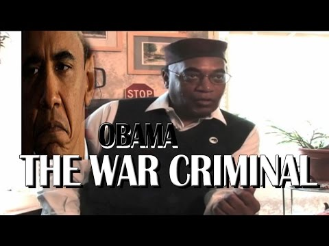 SFi005 -Black Panther: Obama is a war criminal