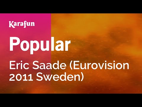 Karaoke Popular - Eric Saade *