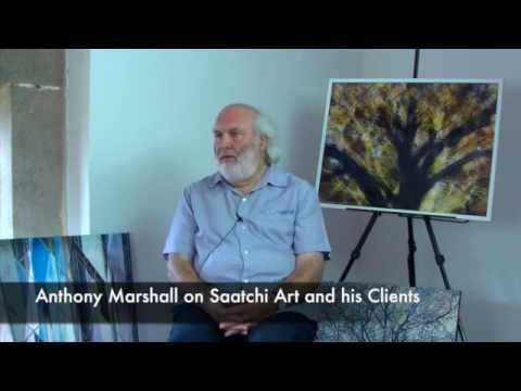 Anthony Marshall on Saatchi Art and Clients