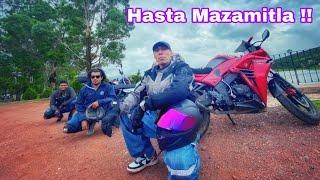 FUIMOS HASTA MAZAMITLA EN MOTO Y nos PERDIMOS EN EL BOSQUE !!