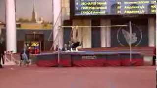 Прыжок в высоту. Мужчины. Чемпионат СПБ (25.01.2014)