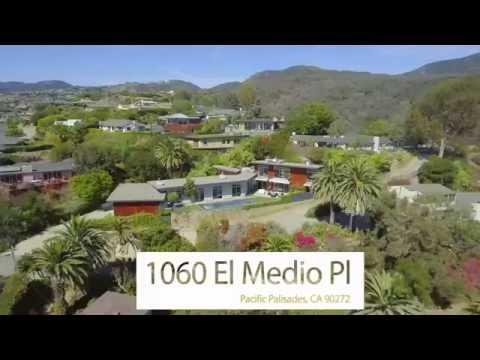 4K Premium Video of Pacific Palisades Estate