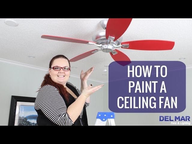 How To Paint A Ceiling Fan: 13 Steps (with Pictures)   WikiHow