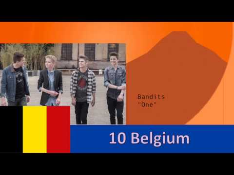 8th International Song Contest: The Global Sound Semifinal 5
