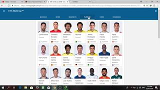 How To Find Schedules And Highlights Standings And Stat For FIFA WORLD CUP 2018