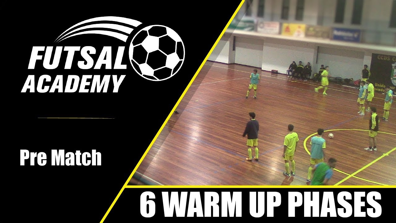 The 6 Warm Up Phases - Pre-Match