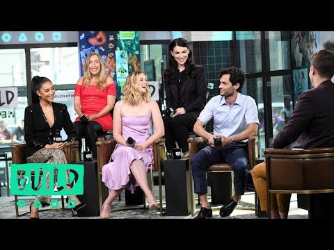 "Penn Badgley, Shay Mitchell, Elizabeth Lail, Sera Gamble & Caroline Kepnes Talk Lifetime's ""YOU"""