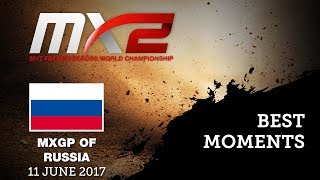 MX2 Best Moments MX2_MXGP of Russia #motocross
