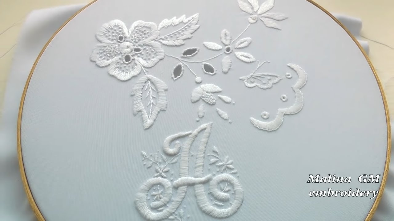 Embroidery: monogram