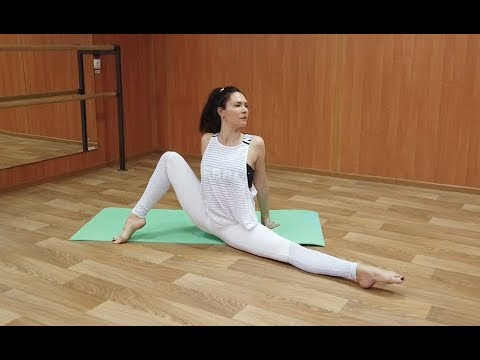 flexyart contortion training stretching routine for leg