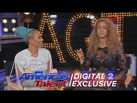Tyra Banks Grills The Judges On AGT Trivia - America's Got Talent 2017