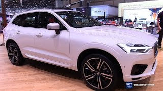 2018 Volvo XC60 T8 AWD - Exterior and  Interior Walkaround - Debut at 2017 Geneva Motor Show