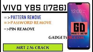 VIVO Y85 (1726) Remove Screen Lock (Pattern/ Password/Pin) Lock