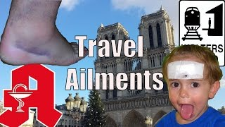 Sick Traveling - 7 Common Ailments of Travelers & How to Avoid Them